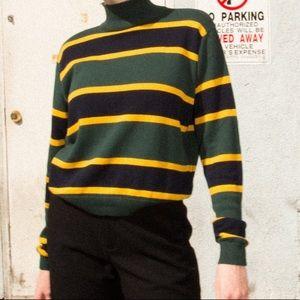 Brandy Melville Shiloh sweater striped turtleneck